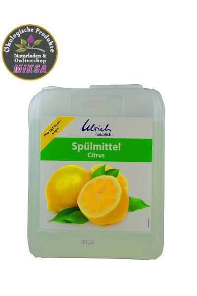 Ulrich natürlich Spülmittel Citrus 5l Neue Rezeptur