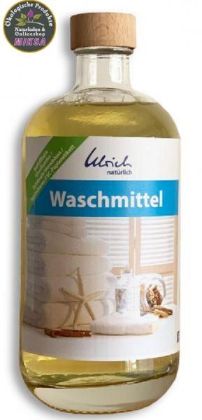 Ulrich natürlich Waschmittel 500 ml Glasflasche