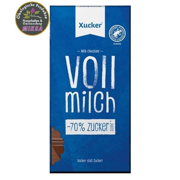 Vollmilch Schokolade mit Xylit