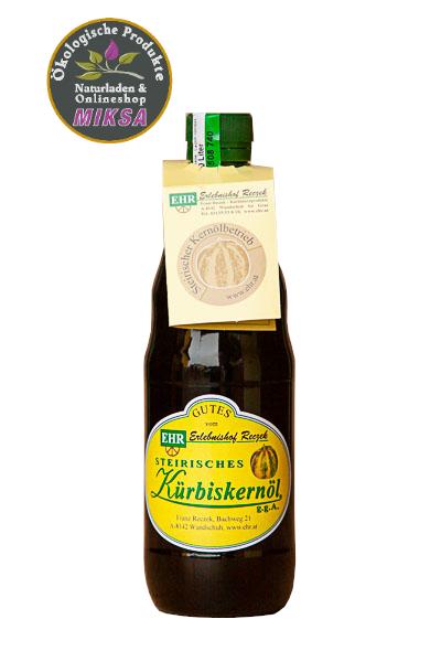 Steirisches Kürbiskernöl 500ml
