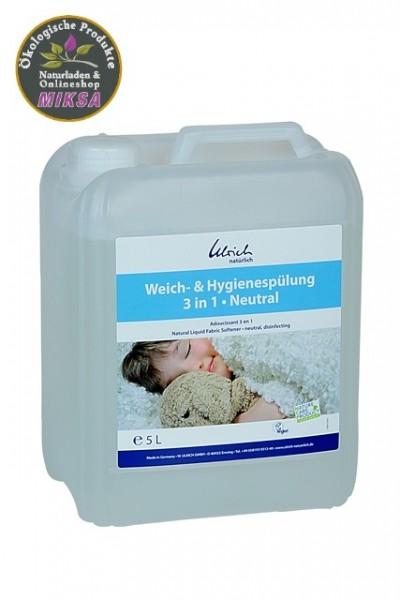 Ulrich natürlich Weich- und Hygienespülung 3-1 neutral 5l