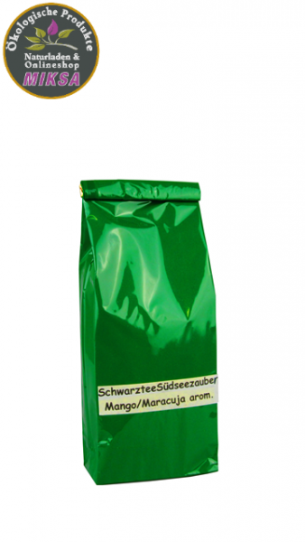 Schwarztee Südseezauber Mango/Maracuja-Note aromatisiert