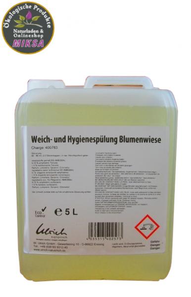 Ulrich natürlich Weich- und Hygienespülung 3-1 Blumenwiese 5l