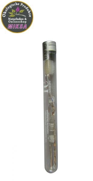 Nano-b Zahnbürste Silber