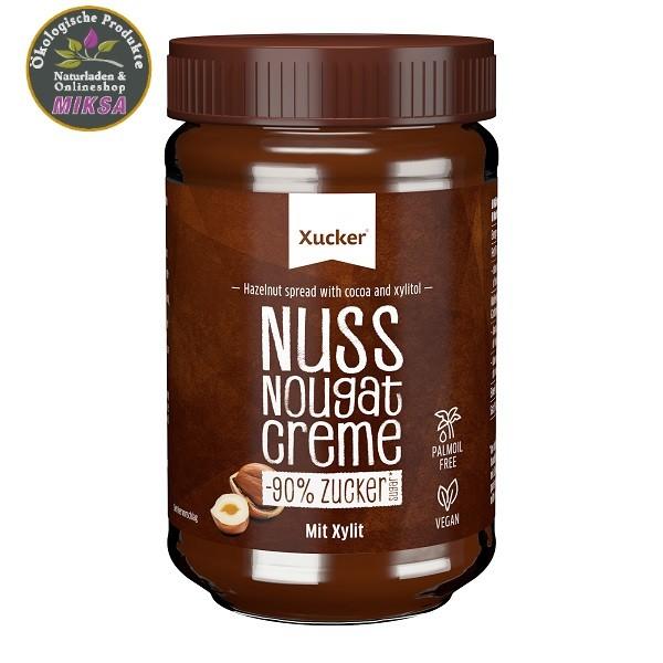 Zuckerarme Nuss-Nougat-Creme mit Xylitol