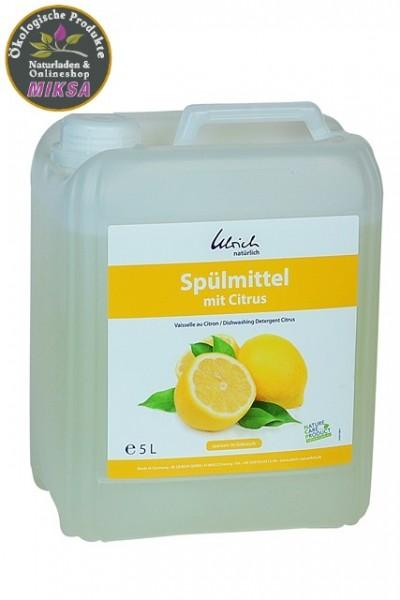Ulrich natürlich Spülmittel Citrus 5l