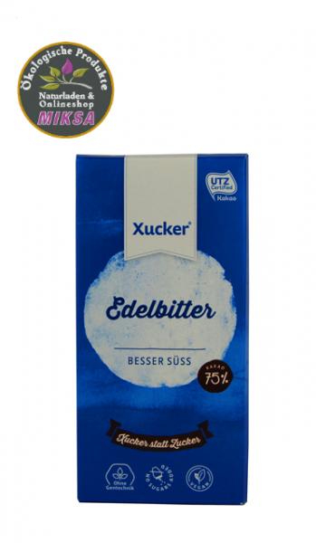 Schokolade edelbitter mit Xylitol - Vegan