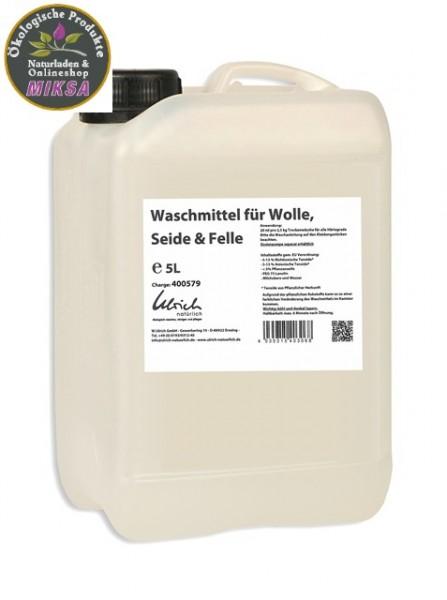 Ulrich natürlich Waschmittel für Wolle, Seide und Felle 5l