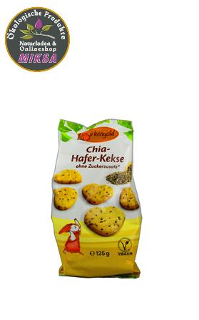 Chia-Hafer-Kekse mit Xylitol