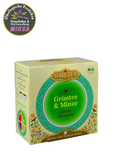 Hari Tee - Grüntee & Minze Kleine Anregung