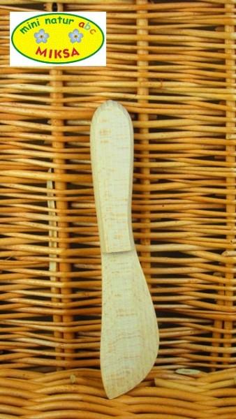 Buttermesser aus Holz, mit verstärktem Griff