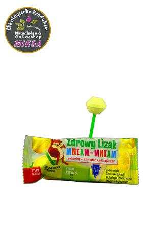 Gesunde mniam Zitrone-Lutscher