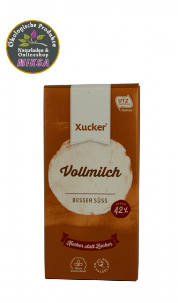 Schokolade edelvollmilch mit Xylitol