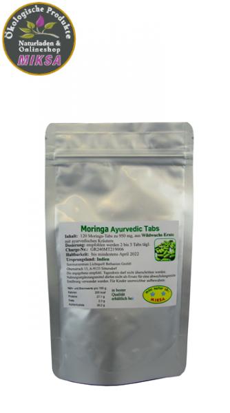 Moringa Ayurvedic Tabs