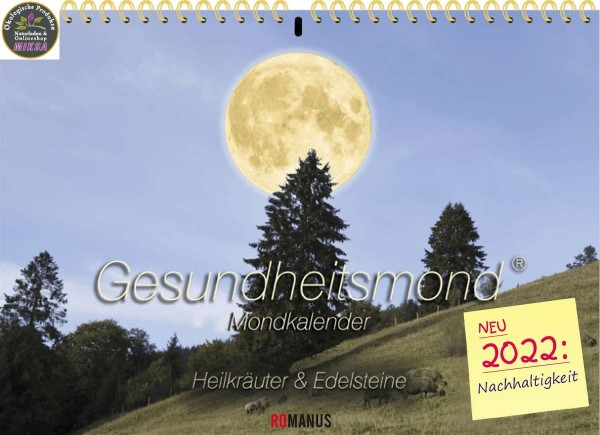 Gesundheitsmond Wandkalender ROMANUS® 2022 (A4)