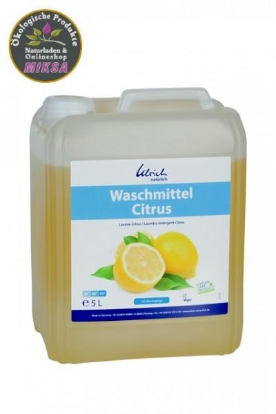 Ulrich natürlich Waschmittel Citrus 5l