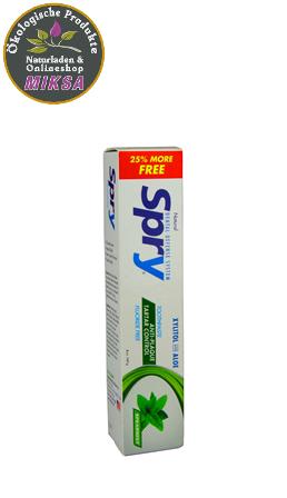 Spry SPEARMINT Zahnpaste mit Aloe und Xylitol