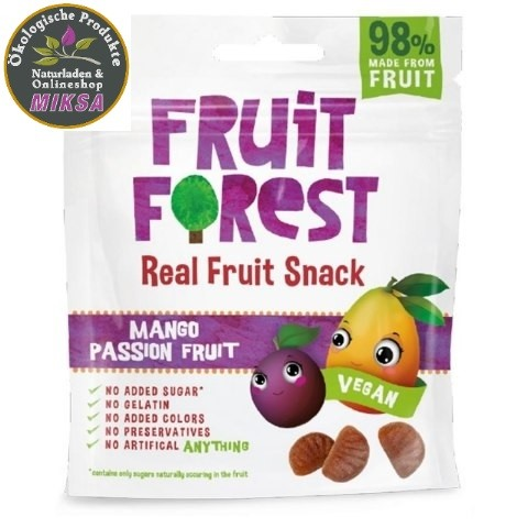 Real Fruit Snack Mango-Passion Frucht