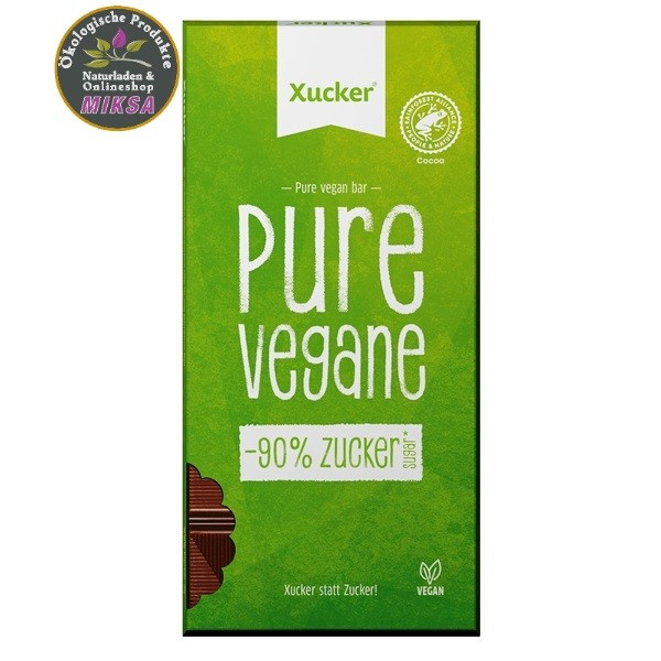 Pure Vegane Schokolade mit Xylitol