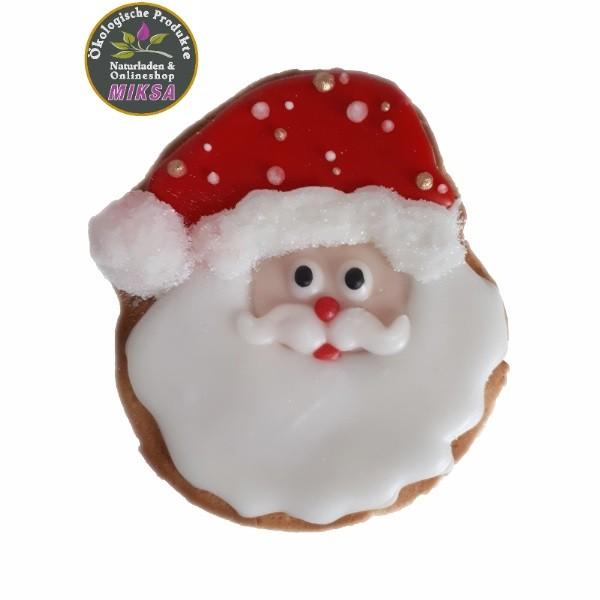 Weihnachtsmann- dekorativer Lebkuchen mit Xylitol