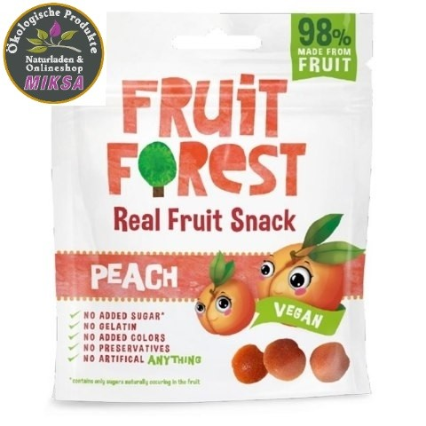 Real Fruit Snack Pfirsich