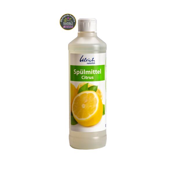 Ulrich natürlich Spülmittel Citrus 500ml Neue Rezeptur