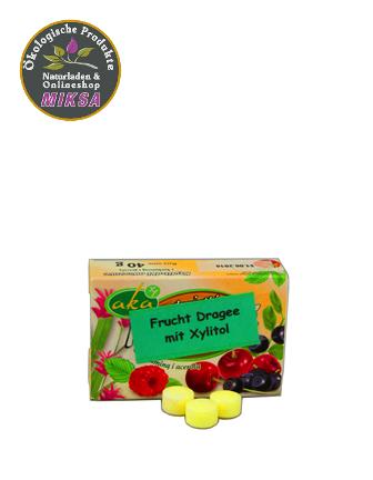 Xylitol-Frucht-Dragee 0% Zucker