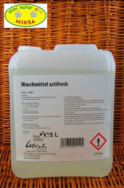 Ulrich natürlich Waschmittel actifresh 5l