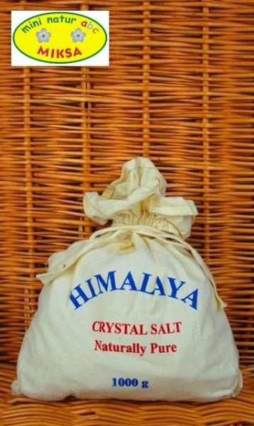Himalaya Kristallsalz Brocken weiss