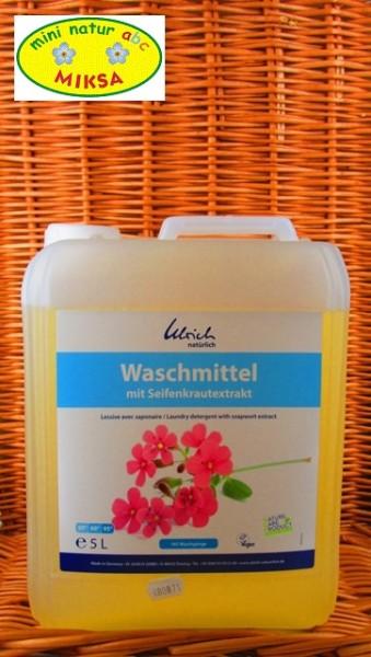 Ulrich natürlich Waschmittel mit Seifenkraut 5l