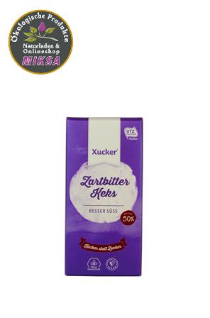 Schokolade Zartbitter mit Kakaokeks und Xylitol