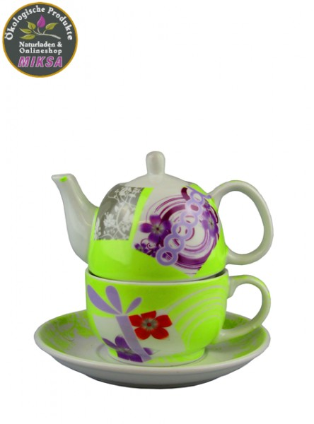 Tea for One Set grün