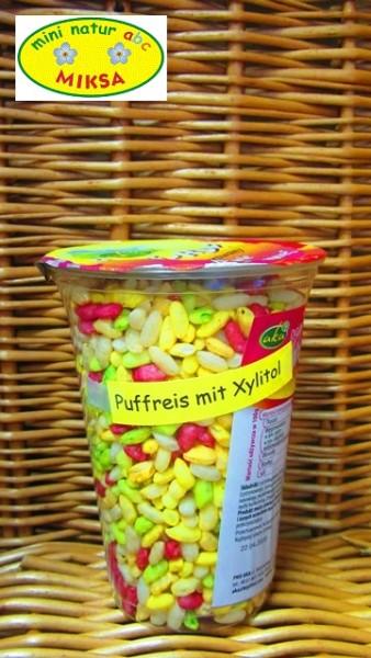Puffreis mit Xylitol